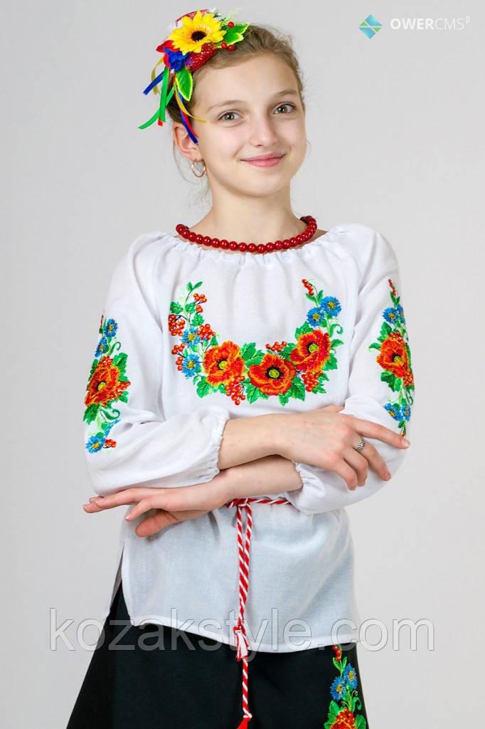 """Вишиванка для дівчинки """"Калина"""""""