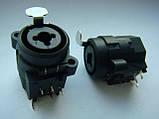 """Гнездо XLR Combo Jack 6.5 XLR 1/4"""" NCJ6FI-H для усилителей типа Park Audio и др., фото 3"""