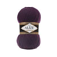 Пряжа для ручного вязания Alize LANAGOLD (Ализе ланаголд) 111 фуксия