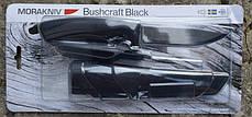 Нож выживальщика Mora BushCraft Black High Carbon 10791, фото 3