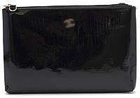 Женская кожаная сумочка клатч art. P-7016 blk, фото 1