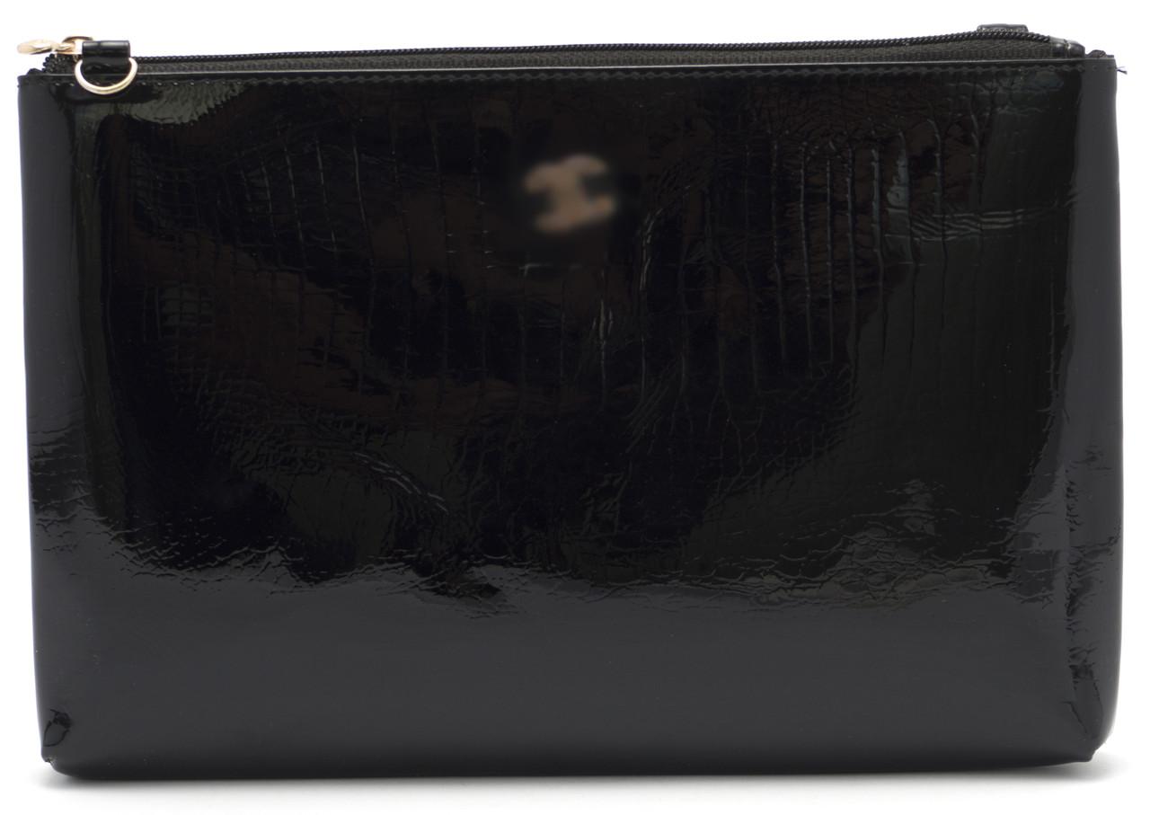 Женская кожаная сумочка клатч art. P-7016 blk