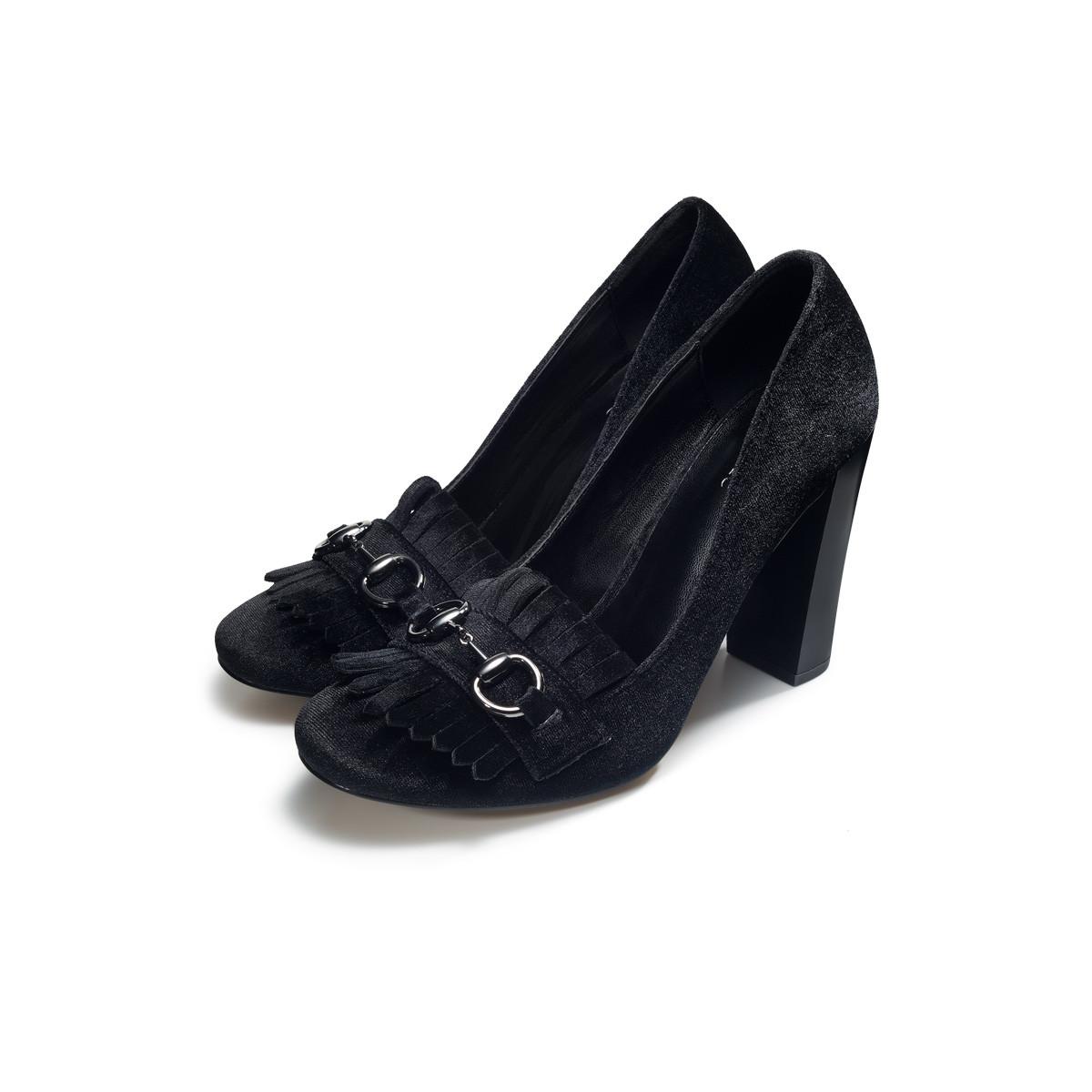 63d6eabe7 Faberlic Туфли женские Violet черные размер 35 36 37 38 39 40 Осенняя  сказка PMW018 арт