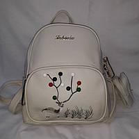 Средний бежевый женский рюкзак, фото 1
