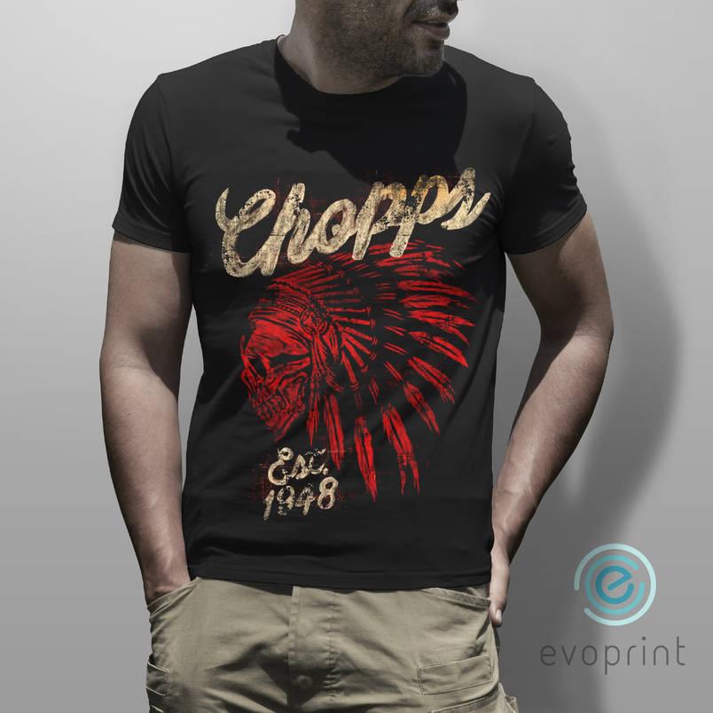 Заказать печать на черных футболках, фото 2
