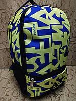 (Усилиная спинак)Принт рюкзак reebok спортивный спорт  городской  стильный ОПТ, фото 1