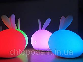 Ночник силиконовый кролик