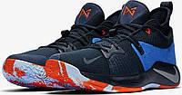 Мужские баскетбольные кроссовки Найк Zoom PG 2 Playstation Navy Blue