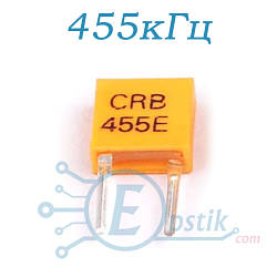 CRB455E, фильтр керамический 455кГц
