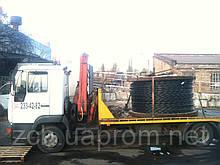 Транспортировка бухтов кабеля