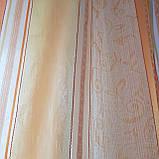 Комплект  штор и тюль  Оранжевая  полоска до подоконника, фото 3