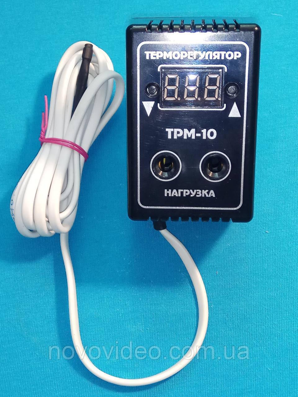 Терморегулятор цифровой в розетку ТРМ-10