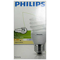 Лампочка энергосберегающая Philips Twister 15W WW Е27 warm white
