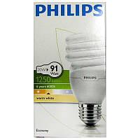Лампочка энергосберегающая Philips Twister 20W WW Е27 warm white