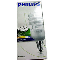 Лампочка энергосберегающая Philips Twister 12W CDL Е14 cool daylight