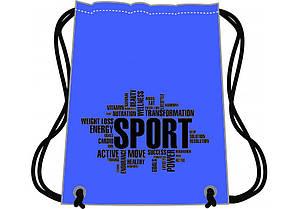 Сумка для обуви Sport синяя