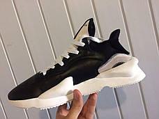 Кроссовки мужские Adidas Yamamoto Y-3 Black/White