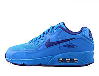 Женские кроссовки Nike Air Max 90 blue, фото 1