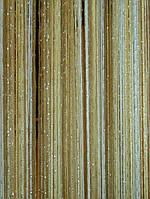 Кисея радуга дождь 1+13+14  (белый, шампань, бежевый ), фото 1