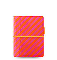Органайзер Filofax Domino Pocket Orange/Pink stripes (19-022576), фото 1