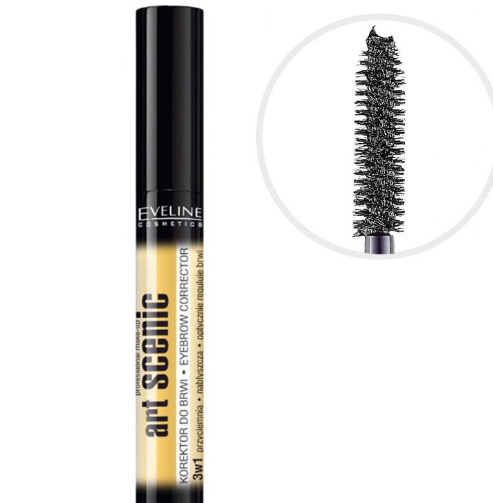Корректор для бровей Eveline Cosmetics Art Scenic Eyebrow Corrector Черный