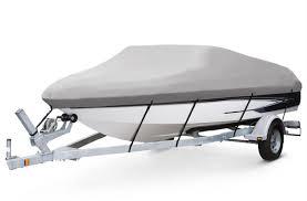 Чехол на катер 14 футов серый, фото 2