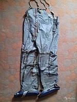 Полукомбинезон ОЗК Рост 3 прошитые (ТЕП-15), Заброды рыбацкие резиновые (химзащита) , фото 1
