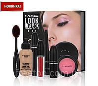 Набор декоративной косметики MAC Look in a box 8in1