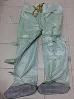Полукомбинезон ОЗК, (БЦК)(усиленные) Заброды рыбацкие резиновые (химзащита) Рост 3 прошитые, фото 1
