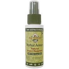 Cредство от комаров, отпугивает насекомых, спрей, 60мл All Terrain, Herbal Armor