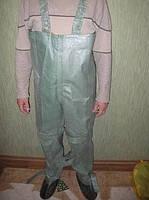 Полукомбинезон ОЗК, (БЦК) (усиленные) Заброды рыбацкие резиновые (химзащита) Рост 3 прошитые