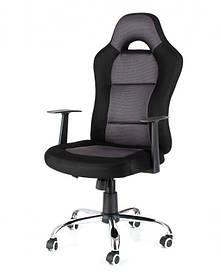 Офисное,компьютерное кресло Drift ,сетка, серо-черное