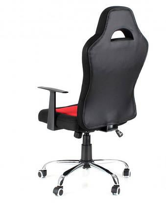 Офисное,компьютерное кресло Drift ,сетка, серо-черное, фото 2