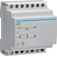 Трансформатор Hager ST315, 230В/24В, 230В/12В