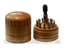 Набір з 12 обтискачів діаметром 2,0-7.5 мм (E-4703)