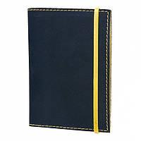 Кожаная обложка на паспорт Небо Лимон (156-15511468)