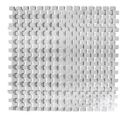 Netta Переливная решетка Netta Grift с центральным соединением 195x25 мм (белая)
