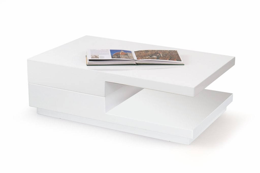 Журнальный столик MONTANA белый Halmar