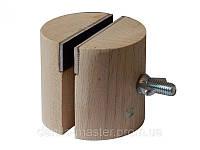 Тиски деревянные (Ø60мм, H=60мм)