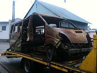 Транспортировка авто после пожара