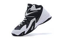 Баскетбольные кроссовки Nike Zoom Soldier 8 black-white