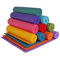 Гимнастический коврик «ЙОГА МАТ» (4 мм)