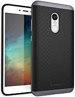 Чехол-накладка Ipaky TPU+PC Xiaomi Redmi Note 4x Black/Grey