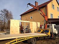 Монтаж деревянных домиков