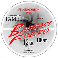 Yamatoyo BAITCAST FLUORO 100 m CLEAR-FLUORO #2,0/0,23 мм 3,6 кг/8 lb