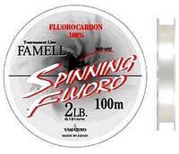 Yamatoyo SPINNING FLUORO 100 m CLEAR-FLUORO #0,6/0,13 мм 0,9 кг/2 lb