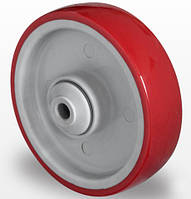 Колесо 100x32 (полиамид/полиуретан) шариковый подшипник