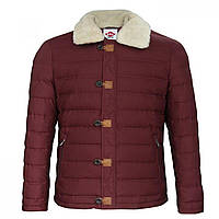 Куртка Lee Cooper Sherpa Jacket Burgundy - Оригинал