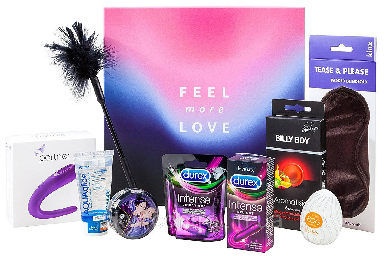 Еротичний набір з 9 предметів Amazon Erotic Gift Box - Feel Love more
