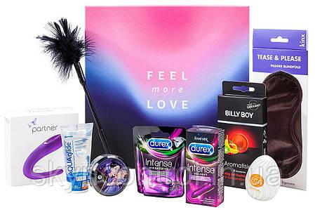 Еротичний набір з 9 предметів Amazon Erotic Gift Box - Feel Love more, фото 2